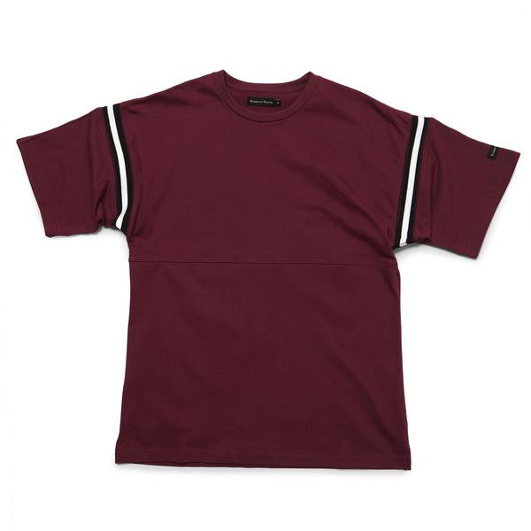 Raised by Wolves - Richardson Football Shirt - Oxblood