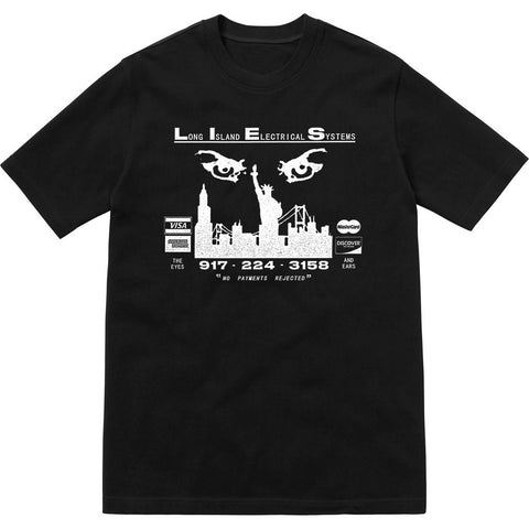 L.I.E.S. Records - The Eyes and Ears Tee - Black