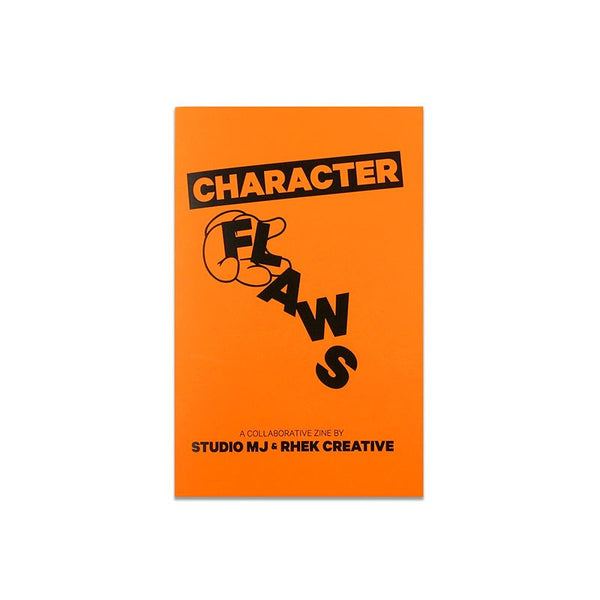 Near Mint - Character Flaws Zine - Orange