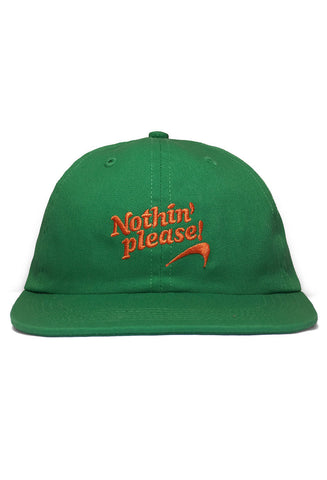 Nothin' Special - Nothin' Please 6-Panel Cap - Kelly Green