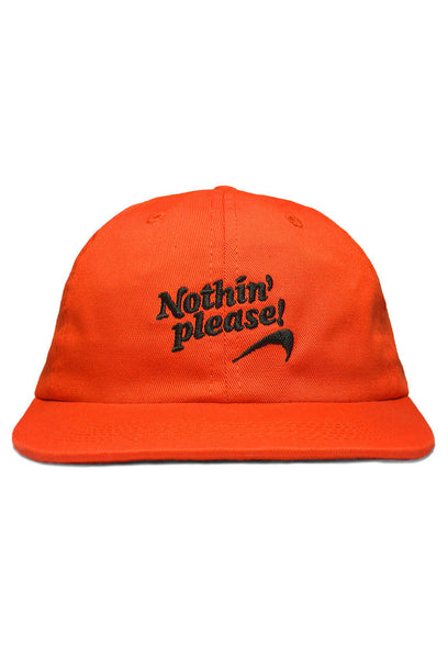 Nothin' Special - Nothin' Please 6-Panel Cap - Orange