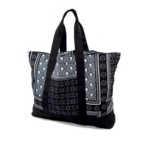 40s & Shorties - Native Tote Bag - Black