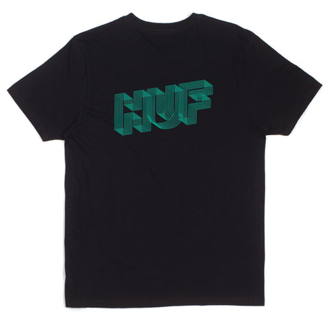 HUF - Optical Huf Tee - Black