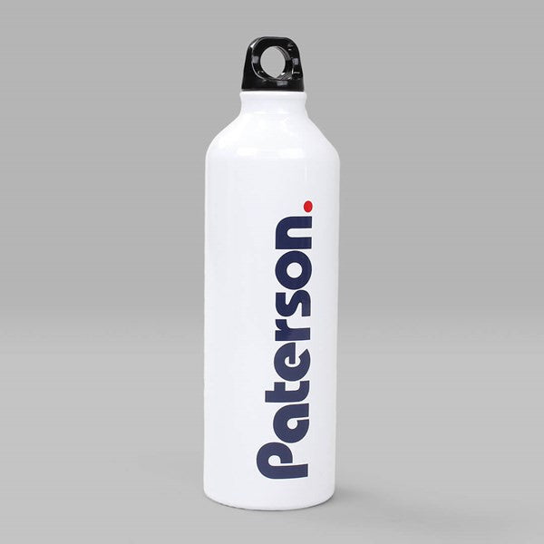 Paterson - OG Logo Water Bottle - White
