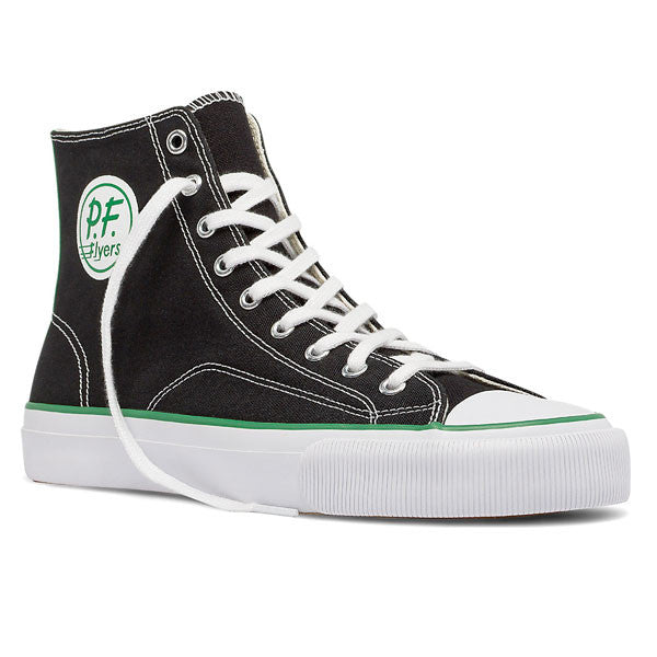 PF Flyers - All American Center Hi - Black Canvas