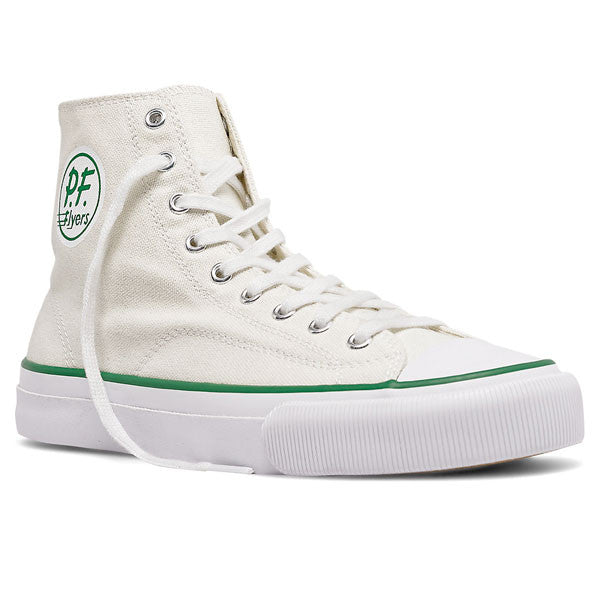 PF Flyers - All American Hi - White Canvas