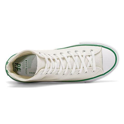 PF Flyers - All American Center Hi - White Canvas