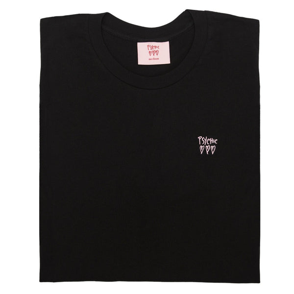 Psychic Hearts - Psychic Hearts Logo Chest Tee - Black