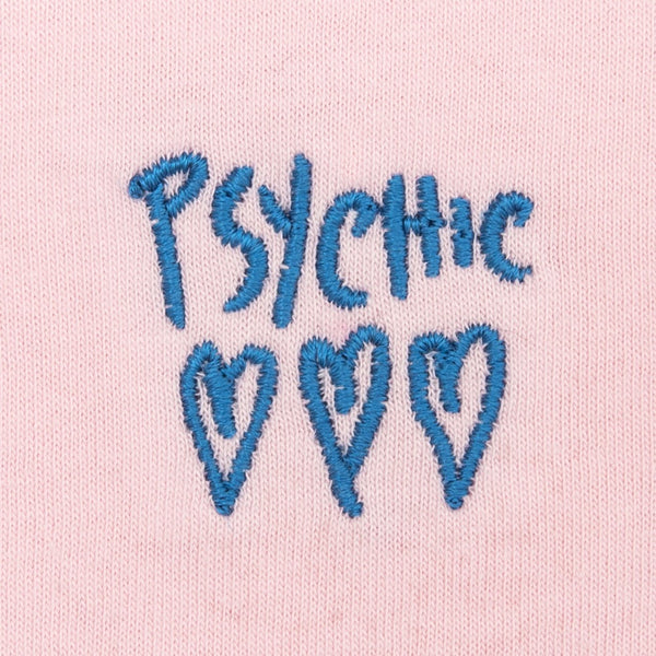 Psychic Hearts - Psychic Hearts Logo Chest Tee - Pink