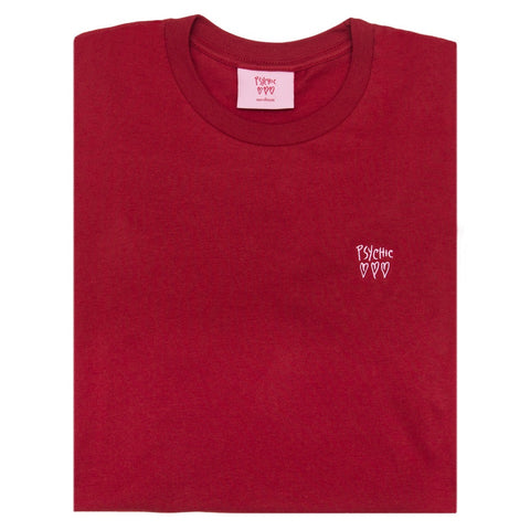 Psychic Hearts - Psychic Hearts Logo Chest Tee - Red