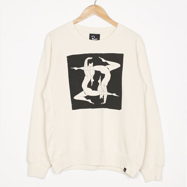 By Parra - Explaining Crewneck Sweater - Natural