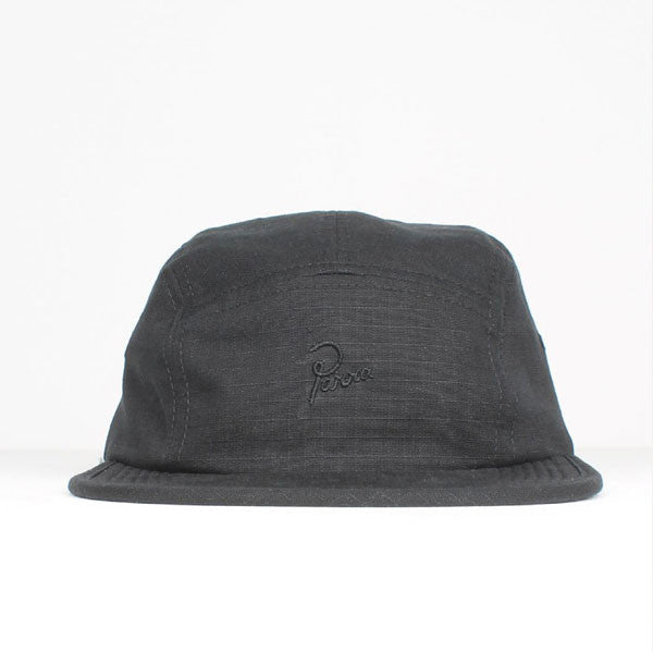 By Parra - Parra Signature 5 Panel Volley Hat - Black