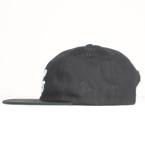 By Parra - TOP HITS 6 Panel Hat - Black