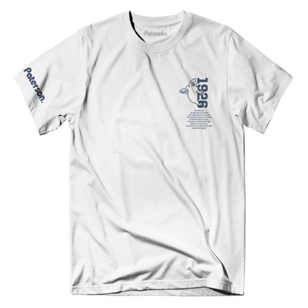 Paterson - Ghost Town Tee - White