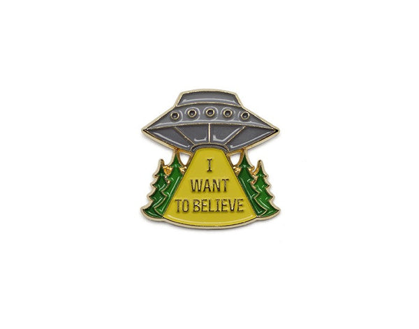Tom Grunwald - X-Files Lapel Pin - Multi