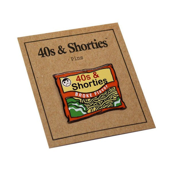 40s & Shorties - Ramen Pin - Multi