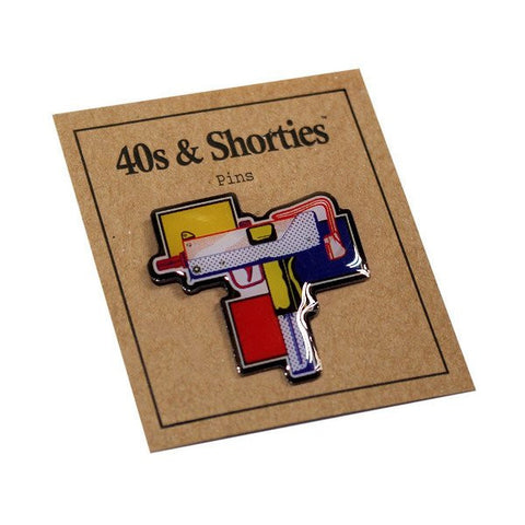 40s & Shorties - Gun Pop Pin - Multi
