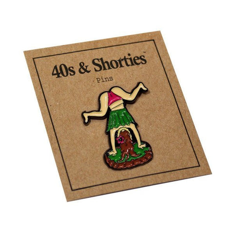 40s & Shorties - Hula Twerk Pin - Multi