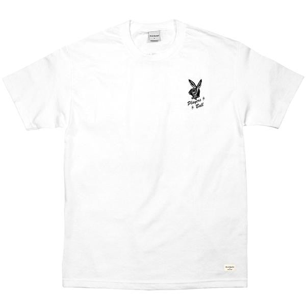 40s & Shorties - Players Ball Tee - White
