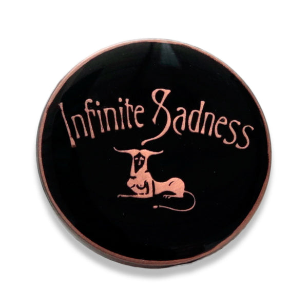 Psychic Hearts - Infinite Sadness Pin - Gold