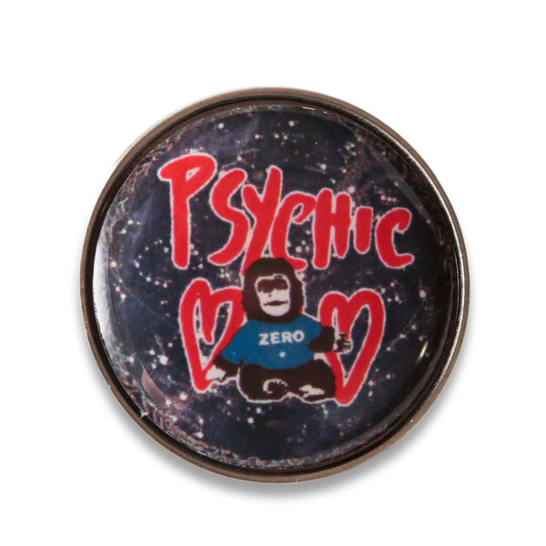Psychic Hearts - Jellybelly Pin - Silver