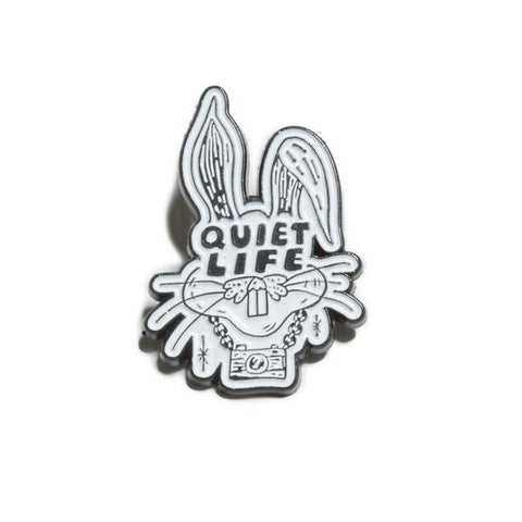 The Quiet Life - Kenney Rabbit Lapel Pin - Metal