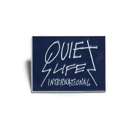 The Quiet Life - Metal Logo Lapel Pin - Metal