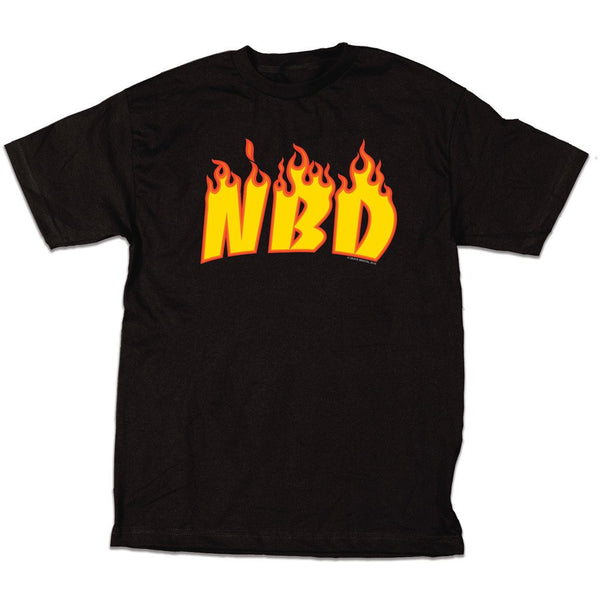 Skate Mental - NBD Tee - Black