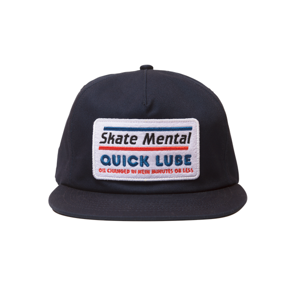 Skate Mental - Quick Lube Hat - Navy Canvas