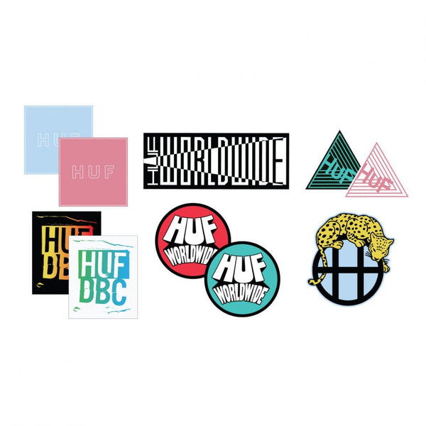 HUF - Sticker Pack - Assorted