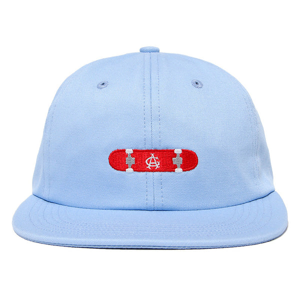 Acapulco Gold - Hard Flip 6 Panel Cap - Light Blue