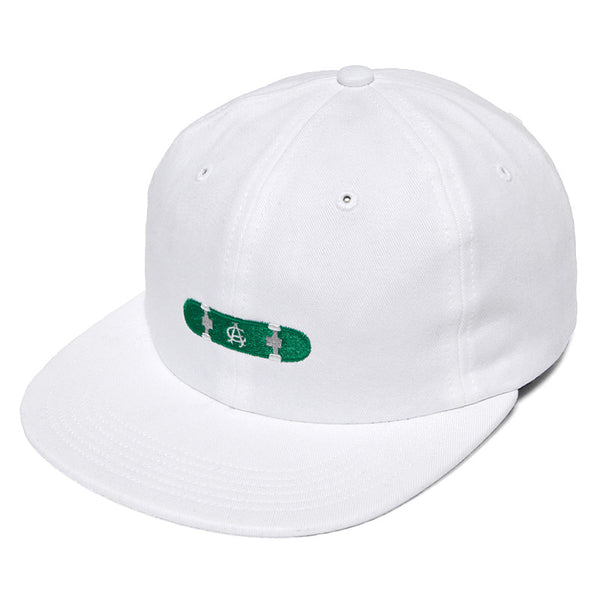 Acapulco Gold - Hard Flip 6 Panel Cap - White