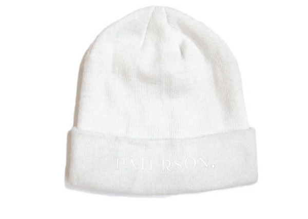 Paterson - Whiteout Beanie - White