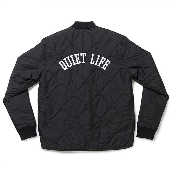 The Quiet Life - Rose Waves Shell Jacket - Black