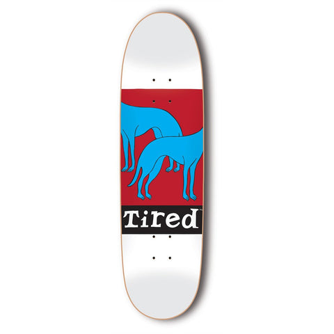 Tired - Headless Dogs Deck - White