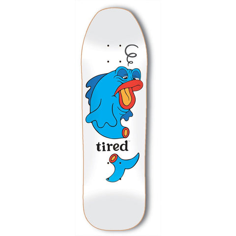 Tired - Fish Deck - White