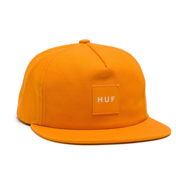 HUF - Wash Canvas Box Logo Snapback - Gold