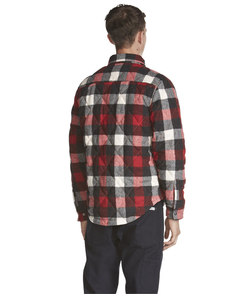 Woolrich - Quilted Mill Wool Shirt Jacket - Old Red