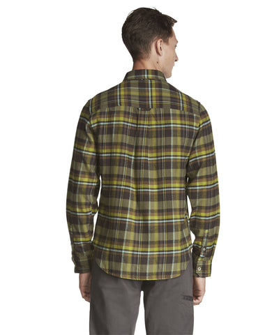 Woolrich White Label - Rich Flannel Shirt - Winter Moss