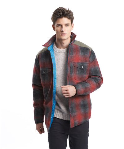 Woolrich White Label - The Mix Up Wool Shirt - Red/Black Plaid