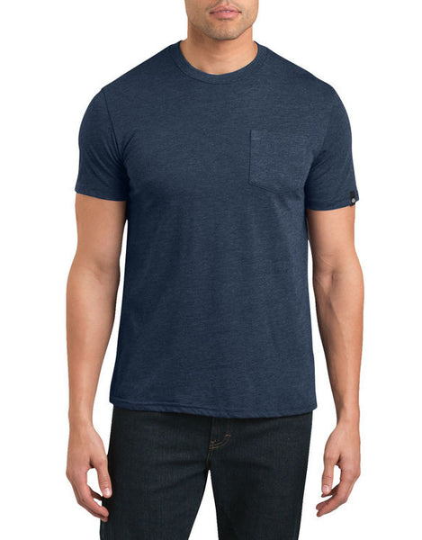 Dickies '67 - Short Sleeve Pocket T-Shirt - Heather Navy