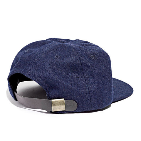 Paterson - Brushed Wool Club Hat - Navy