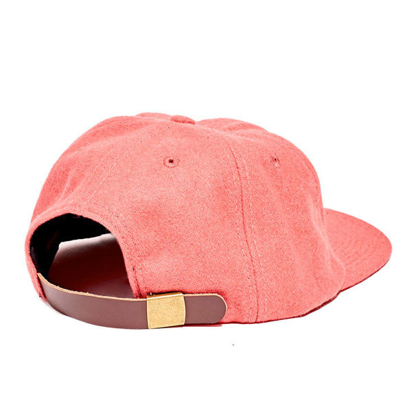 Paterson - Brushed Wool Club Hat - Canyon Rose