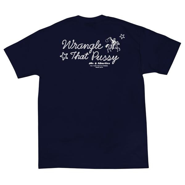 40s & Shorties - Wrangle Tee - Navy