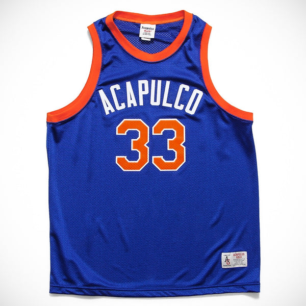 Acapulco Gold - All Courts Basketball Jersey - Blue