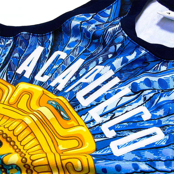 Acapulco Gold - Amulet Basketball Jersey - Blue