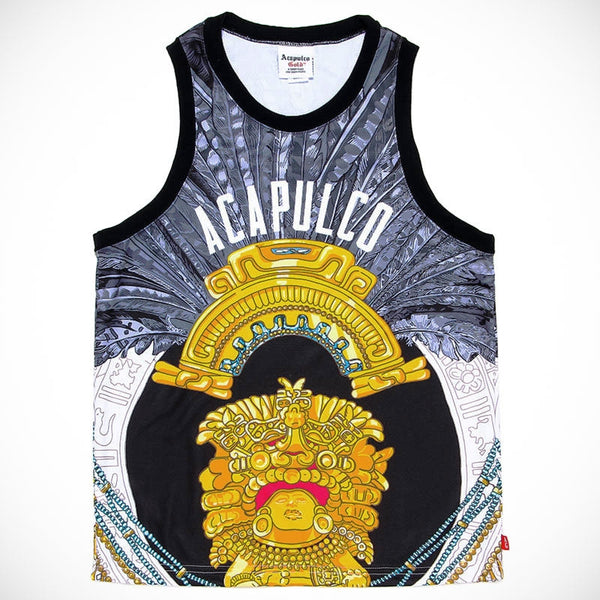 Acapulco Gold - Amulet Basketball Jersey - Black