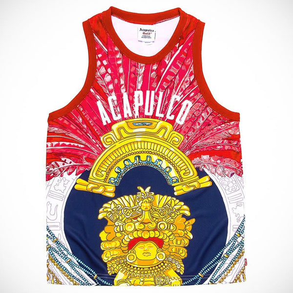 Acapulco Gold - Amulet Basketball Jersey - Red