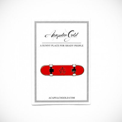 Acapulco Gold - Hard Flip Lapel Pin - Red