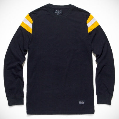 Acapulco Gold - On Field L/S Shirt - Navy